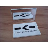 hotel/house use credit card shape dental floss with mirror