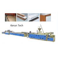 Window Ceiling Wall Panel Plastic Profile Extrusion Line / PVC Profile Extruder Manufactures
