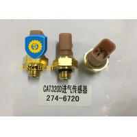 China Brass Cat Excavator Parts Oil Pressure Gauge Sensor 2746720 Use Long Lifespan on sale