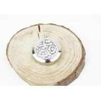 China Custom Fashion Essential Oil Jewelry Stainless Steel Aromatherapy Locket Pendant on sale