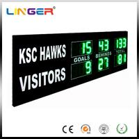 Green Digit AFL Electronic Cricket Scoreboard Portable Football Scoreboard Manufactures
