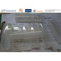 Small PP Clear Plastic Storage Box 2 Cavity Injection Molded Plastic Products Manufactures