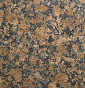 China Baltic Brown Granite Slab Countertop , granite bathroom vanity tops on sale