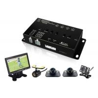 China Best 360 Degree Car Vehicle Security Camera System with DVR LCD Monitor Cables on sale