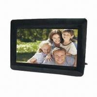 China 7-inch Digital Photo Frame with 480 x 234 Pixels Resolution and 16:9 Aspect Ratio on sale