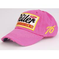 Spring Visor 100 Cotton Twill Baseball Caps With Curved Brim , 58cm / 59cm Manufactures