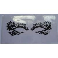 Mixed Styles / Glue Printed Eye Tattoo Sticker , Reusable False Eyelashes Manufactures