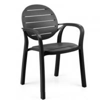 China new style modern outdoor plastic dining arm chair furniture on sale