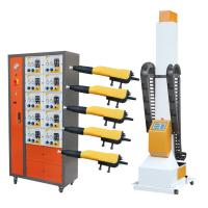 Metal Material Automatic Powder Coating Machine Digital Display Screen