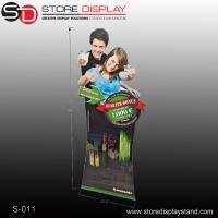 Quality unique retail corrugated paper display standee for sale