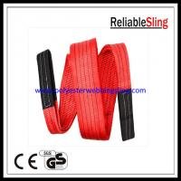High Safety web lifting sling and straps , Anti - abrasion construction slings Manufactures