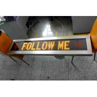 outdoor airport vehicle led message sign board car FOLLOW ME display Manufactures