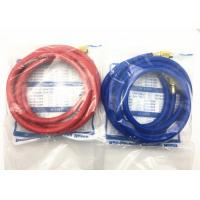 NBR Material ac charging hose , charging hose refrigerant for Conveying R134a Manufactures