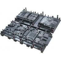 China Large progressive metal stamping dies for automotive bracket, chassis made of carton steel on sale