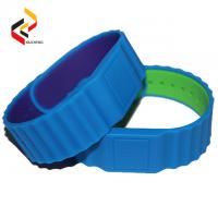 HF RFID Wristband free silicone wristbands NTAG216 Bracelet Cheap Silicone Wristbands Manufactures