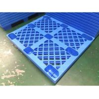 4 Way HDPE Plastic Storage Pallet For Variour Industries Lightweight Structure Manufactures