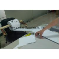 Quality roll material paper sticker hanging cutting small production making machine for sale