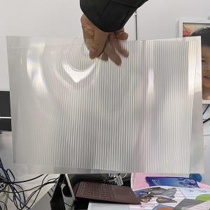 3d lenticular UV offset printing lens sheet material 75/100/161/200 Lpi 3D Film Lenticular Lens Sheet sale in Vietnam Manufactures