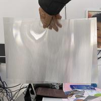 Chinese 3D Lenticular Sheet supplier high transparency 0.9mm 70 lpi lenticular sheet for 3d lenticular printing products Manufactures