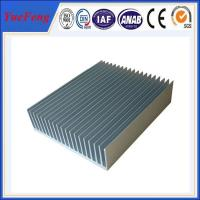 Quality industry aluminum profiles heatsink, OEM customized drawing industrial aluminum for sale