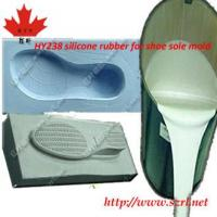 China shoe soles mold making silicone rubber on sale
