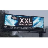 PH20 DIP 546 Full Color Outdoor LED Billboard Display with OPTO / SILAN LED Chip Manufactures
