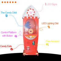 China 2019 new funny coin operated games candy vending machine for kids on sale