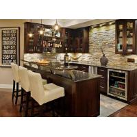 Natural Marble Eased Edges Custom Bar Countertops For Home Kitchen Manufactures