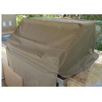 Eco Friendly Built In Bbq Covers / Barbecue Grill Covers Outdoor 600 D Polyester With PVC Manufactures