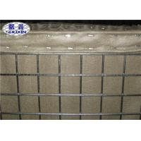 Green Military Defensive Barriers For Safeguard Ground Wall 3 Cells Type