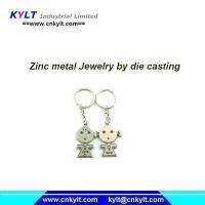 China Zinc/Zamak jewelry making processes with die casting machine on sale