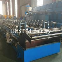 China Plank C U Channel Cable Tray Roll Forming Machine Hydraulic Cutter / Punch on sale