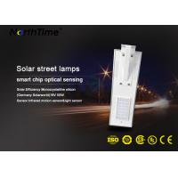 18V 20W Solar Panel street lamp  4 Rainy days lighting  Time control system Manufactures