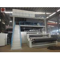 High efficiency PP / PET Single Die Spunbonded Non Woven Fabric Machine / Instrument Manufactures