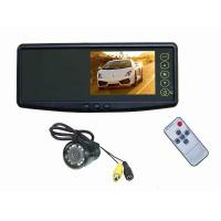 China Car Rearview Mirror With 4.3 Tft And Camera / Parking Sensor System on sale