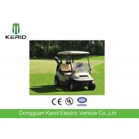 2 Seat Electric Golf Carts 48 Voltage Trojan Battery Aluminum Chassis DC Motor Manufactures