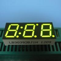 "0.39"" Green Triple Digit Seven Segment LED Display For Intrument Panel Indicator Manufactures"