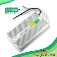 12V 20A waterproof led power supply of high quality Manufactures
