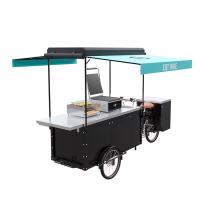China Customized Electric Scooter Food Cart , EQT Cycle Food Cart For Burger on sale