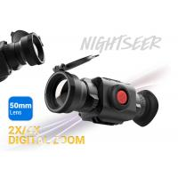 50mm Lens Thermal Imaging Scope 2x / 4x Digital Zoom Nature & Law Enforcement Use Manufactures
