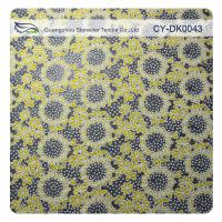 Cotton Circle Colored Polyester Burnout Allover Flower Lace Fabric For Kid Clothes Manufactures