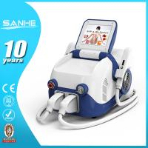 2016 Portable SHR IPL laser hair removal machine prices/portable ipl shr hair removal Manufactures