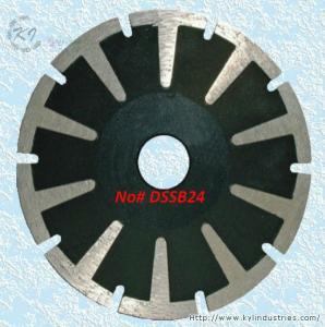 Continuous Rim Diamond Concave Saw Blades - DSSB24 Manufactures