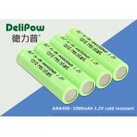 Environmental Cold Resistant Aaa 1.2 V Rechargeable Batteries