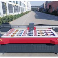 Large Format Digital UV Flatbed Printer Uv Curing Ink Max Printing Size 2500mm * 1300mm Manufactures
