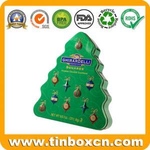 China Christmas gift tin box,round tin can,square tin box At www.tinboxcn.com on sale
