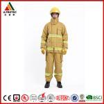 EN469 Firefighter Uniforms Fireman Turnout Gear Yellow Orange Navy Blue Custom Color Manufactures