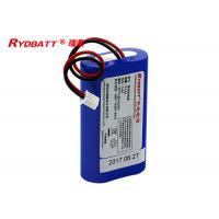 China 1S2P 3.6V 5200mAh Li Ion 18650 Battery Pack More Than 500 Times Cycle Life on sale