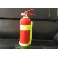 Foot Ring Type 1kg Powder Fire Extinguisher with bracket , Red Small Car Fire Extinguisher Manufactures