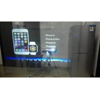 Self Adhesive Rear Projection Window Film / Transparent Holographic Film Outdoor Manufactures
